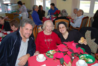 Residents and Their Loved Ones Celebrate the Holidays at McPeak's Christmas Party