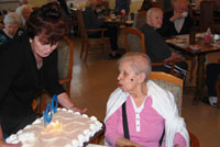 McPeak's Resident Maria Teresa Brana Celebrates 100th Birthday