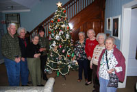 McPeak's Assisted Living Residents Take Part in Tree Trimming