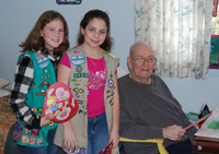 Local Girl Scouts Celebrate Valentine's Day with Residents at McPeak's Assisted Living