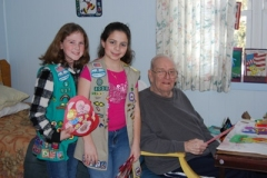 Valentine's Day with the Girl Scouts <br/><em>February 13, 2010</em>